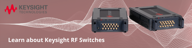 Keysight RF Switches Banner