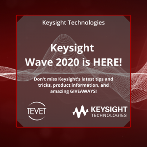Keysight WAVE 2020 is HERE!