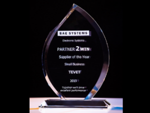 BAE Systems Honors TEVET with a Supplier of the Year Award