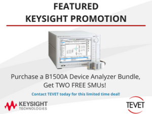 Exclusive Keysight Promotion – B1500A Device Analyzer Bundle