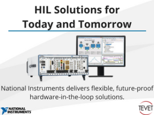 HIL Solutions for Today and Tomorrow - National Instruments Delivers