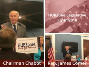 HUBZone Support - TEVET Travels to HUBZone Legislative Fly-In
