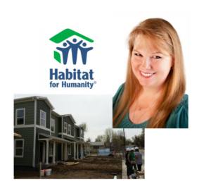 Member of the TEVET Team Helps Habitat for Humanity Build Homes for the Future