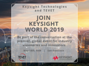 Join the Keysight World 2019