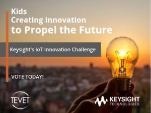 Kids Creating Innovation to Propel the Future – Keysight's IoT Innovation Challenge