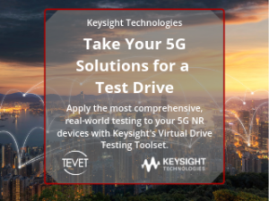 Take Your 5G Solutions for a Test Drive – Keysight's Virtual Field-to-Lab Toolset