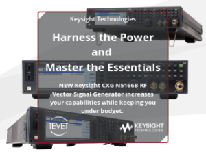 Harness the Power and Master the Essentials – NEW Keysight CXG Signal Generator