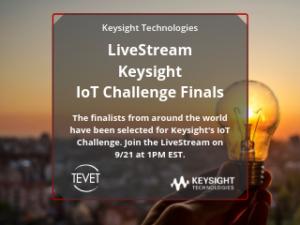 Mark Your Calendar: LiveStream – Keysight IoT Challenge Finals
