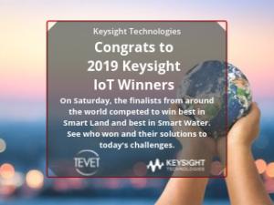 2019 Keysight IoT Winners Announced