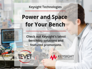 Power and Space for Your Bench – Keysight's Latest Benchtop Solutions