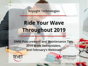 Ride the Wave - Ensure Your Daily DMM Measurements with Keysight