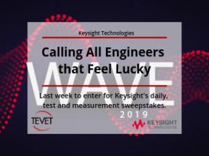 Get on the Same Wavelength – Last Week for Keysight's Wave 2019