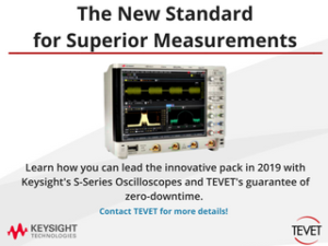 Lead the Pack - Keysight's Infiniium S-Series Oscilloscopes