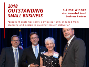 Lockheed Martin Awards TEVET as 2018 Outstanding Small Business