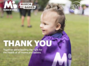 TEVET Walks the Walk for March for Babies