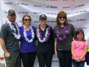 Finishing Strong - TEVET Runs March for Babies Race