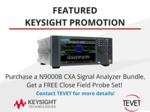 Exclusive Keysight Promotion - N9000B CXA Signal Analyzer