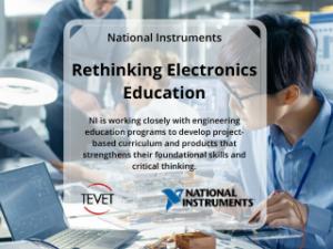 Rethinking Electronics Education – National Instruments