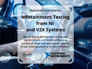 Infotainment Testing – National Instruments and V2X Systems