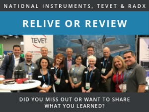 Relive or Review NIWeek with TEVET