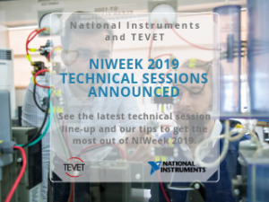 Technical Sessions Announced for NIWeek 2019