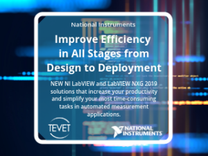 Improve Efficiency in All Stages from Design to Deployment – NEW NI LabVIEW Solutions