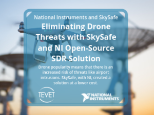 Eliminating Drone Threats with SkySafe and NI Open-Source SDR Solution