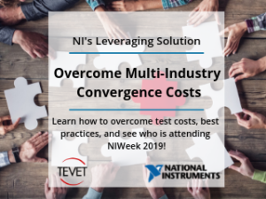 Overcome Multi-Industry Convergence - NI's Leveraging Approach