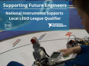 Supporting Future Engineers - National Instruments Supports Local LEGO League Qualifier