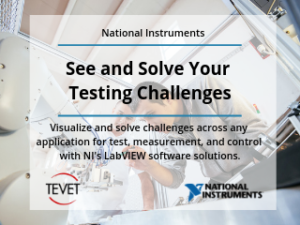 See and Solve Your Testing Challenges with NI's LabVIEW Software Solutions