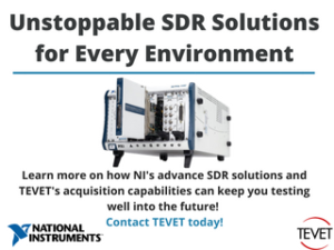 Solutions for You - National Instruments SDR Technology