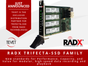 TEVET Announced as Exclusive Distribution Partner for Trifecta-SSD from RADX Technologies