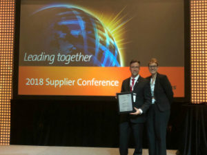 Leading Together with Rockwell Collins - Platinum Premier Supplier Award 2018