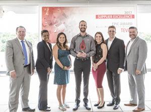 Raytheon Presents TEVET with Raytheon EPIC Award