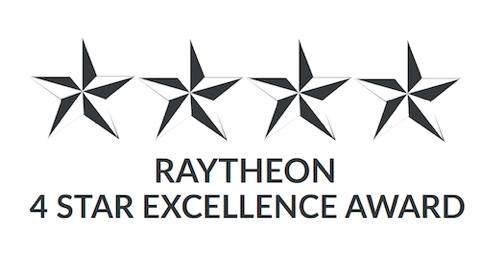 TEVET Awarded Raytheon 4 Star Supplier Award