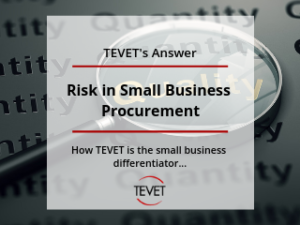 Risk in Small Business Procurement - TEVET's Answer