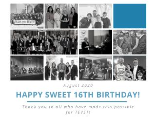 Happy Sweet 16, TEVET!