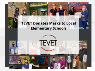 TEVET Donates Masks to Greene County and Greeneville City Elementary Schools