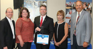 Jacobs Presents TEVET with Outstanding Small Business Award