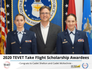 Soaring Above the Clouds – TEVET Take Flight Scholarship 2020