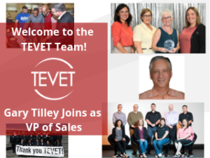 New Face for 2019 – TEVET Welcomes Gary Tilley as VP of Sales