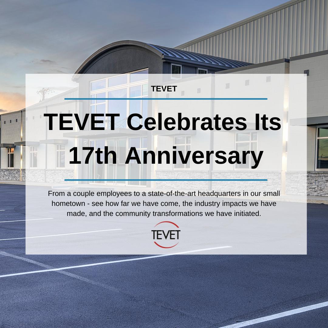 TEVET Celebrates Its 17th Anniversary