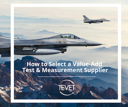 How to Select a Value-Add Test & Measurement Supplier